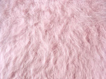 Pink fleecy fabric (angora woolen cloth) royalty free stock image