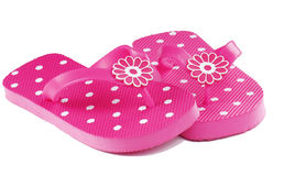 Pink Flip Flops Royalty Free Stock Photo
