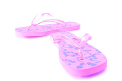 Pink flip flops Royalty Free Stock Photography