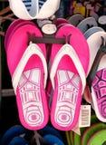 Pink flip flops Royalty Free Stock Image