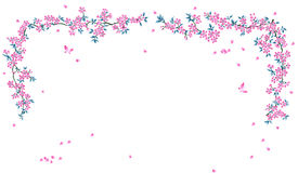 Pink floral Stock Photo