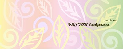 Pink floral background. Stock Images