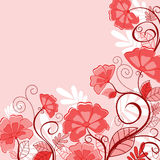 Pink floral background Royalty Free Stock Photography