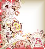 Pink Floral Background Stock Photography