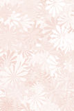 Pink Floral Background. A pale pink floral background Stock Image