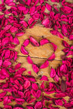 Pink floral background Stock Image