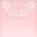 Pink floral background. Royalty Free Stock Photography