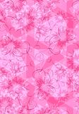 Pink Floral Background Texture Royalty Free Stock Image