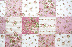 fabric flowers pattern Royalty Free Stock Image