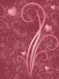 Pink Floral Grunge Royalty Free Stock Image