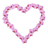 Pink floral heart Royalty Free Stock Photo