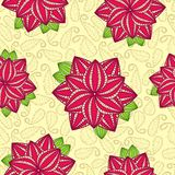 Pink Floral Pattern Seamless Stock Photos