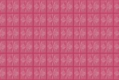 Pink floral play wood sheet Royalty Free Stock Images