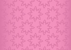 Pink Floral Repeat Pattern Seamless Vector Background Design Royalty Free Stock Photography