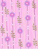 Pink floral sample Royalty Free Stock Photo