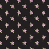 Pink Floral seamless Pattern Stock Photos