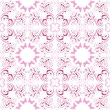 Pink floral seamless pattern Stock Photos