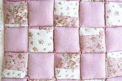 Pink floral texture. Variety of pink floral patchwork Royalty Free Stock Images