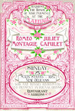 Pink Floral Vintage Wedding Invite Royalty Free Stock Image