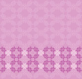 Pink flourish background. Illustration of abstract vintage pink floral texture background Stock Photography