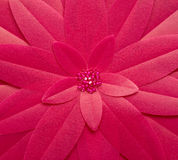 Pink flower. Fake pink flower for background Royalty Free Stock Images