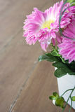 Pink Flower. Photo of pink artificial flower Royalty Free Stock Image