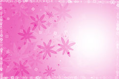 Pink flower abstract background. Royalty Free Stock Photos