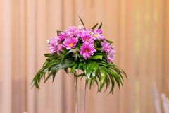 Pink Flower Arrangement Royalty Free Stock Photography