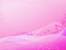 Pink Flower Background Stock Image