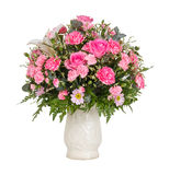 Pink flower bouquet Stock Photography