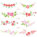 Pink Flower bouquets Stock Photography