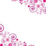 Pink flower. Floral background. Stock Images