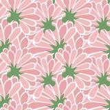 Pink flower floral pattern simple art  design Stock Images