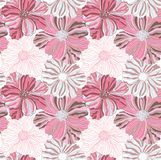 Pink flower pattern Royalty Free Stock Images