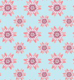 Pink Flower Seamless Pattern#3 Royalty Free Stock Photography