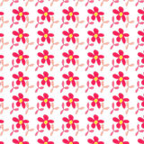 Pink flower seamless pattern background Stock Photography