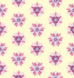 Pink Flower Seamless Pattern#5 Royalty Free Stock Photography