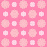 Pink flower wallpaper great for any use. Vector EPS10. Stock Photo