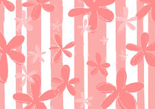 Pink flowers background Stock Photos