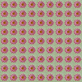 Pink Flowers Pattern Royalty Free Stock Photos