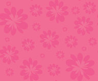 Pink flowers seamless background Royalty Free Stock Photo