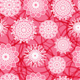 Pink Flowers Seamless Pattern Royalty Free Stock Photo