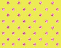 Pink flowers watercolor little pink flower pretty background stock illustration