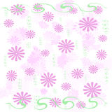 Pink Flowers Wrap Royalty Free Stock Image