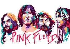 Pink Floyd ilustração royalty free