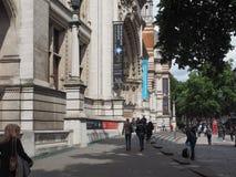 Pink Floyd wystawa przy VA muzeum w Londyn zdjęcia stock