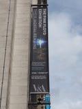 Pink Floyd wystawa przy VA muzeum w Londyn obraz stock