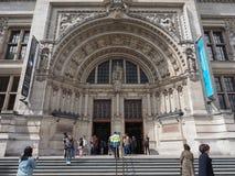 Pink Floyd wystawa przy VA muzeum w Londyn zdjęcie stock