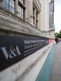 Pink Floyd wystawa przy VA muzeum w Londyn zdjęcie royalty free