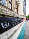 Pink Floyd wystawa przy VA muzeum w Londyn, hdr obraz stock